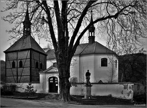 Kostel v Církvici u Ústí nad Labem